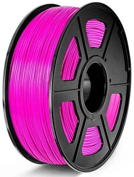 filamento PLA Fucsia de 1.75mm fabricado por Sunlu