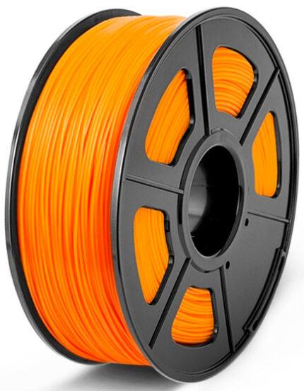 filamento PLA Naranja de 1.75mm fabricado por Sunlu