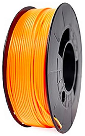 filamento PLA Naranja Fluorescente de 1.75mm premium fabricado por 3D World
