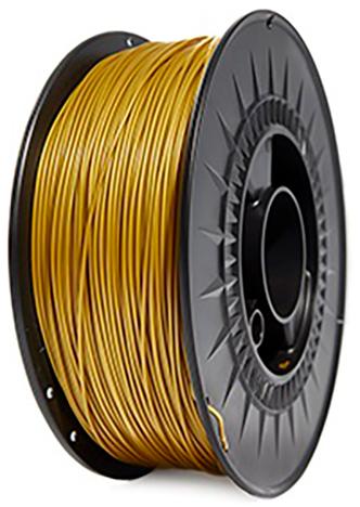 filamento PLA Oro de 1.75 mm premium fabricado por 3D World