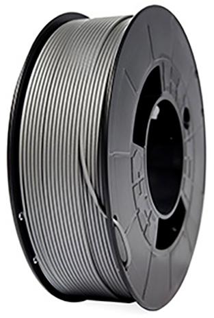 filamento PLA Plata de 1.75 mm premium fabricado por 3D World