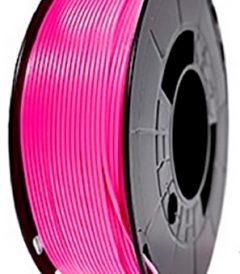 filamento PLA Rosa Fluorescente premium fabricado por 3D World
