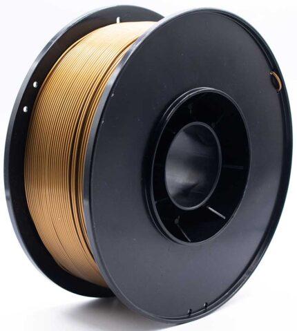 filamento 3d pla-f oro